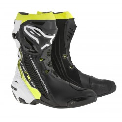 Alpinestars Black White Yellow Fluo