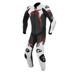 Alpinestars mono de cuero GP Plus 1PC Black White Red