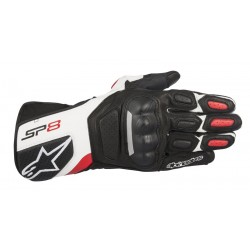 Alpinestars Guantes SP-8 V2 Black White Red