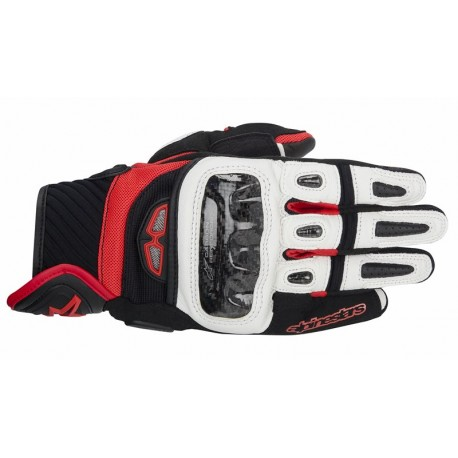 Alpinestars Guantes GP Air Black White Red