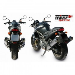 Mivv Escape Oval Cagiva Raptor 650 2001-2010