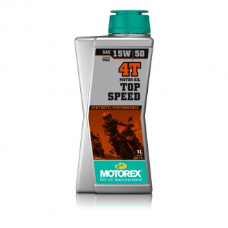 MOTOREX TOP SPEED MOTOR OIL 4T 15W50